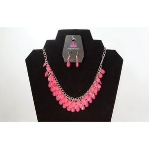 Paparazzi Next In SHINE - Pink Necklace